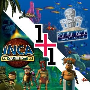 игра 2 игры в 1 -  Inca Quest и Бол