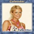 java игра Календарь - Парис Хилтон