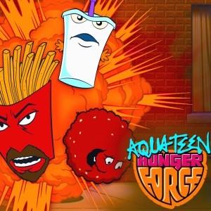 Aqua Teen Hunger Force java-игра