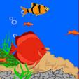 мобильная java игра В океане