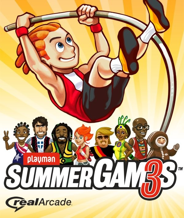 мобильная java игра Playman Summer Games 3