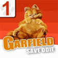 java игра Garfield Save Odie 1