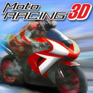 java игра 3D Moto Racing