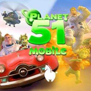 игра Планета 51 - 2 игры в 1