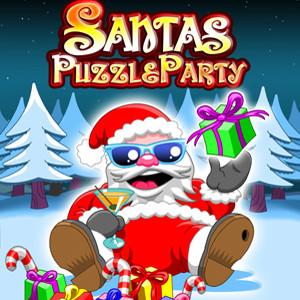Santas puzzle party java-игра