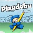 java игра Pixudoku