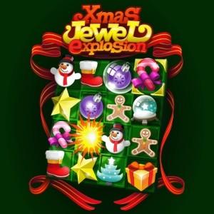 java игра Рождественское разбивание драгоценных камней!