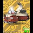 игра Планета 51 - Пожарная машина