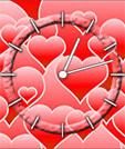 java игра Сердца