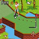 java игра Мини гольф