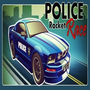 мобильная java игра Police Rocket Race (Android)