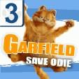 java игра Гарфилд спасает Оди 3