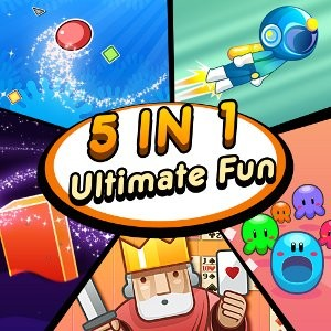 java игра 5 in 1 Ultimate Fun