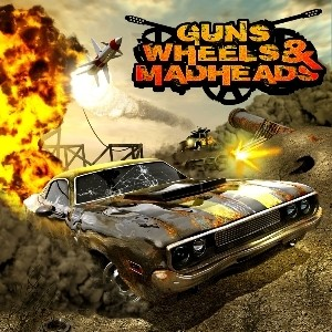 java игра 3D Guns Wheels and Madheads
