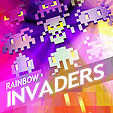 мобильная java игра Rainbow Invaders