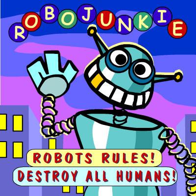 java игра Робот Джанки