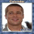 java игра Календарь - Бред Пит