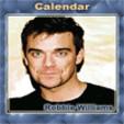 java игра Календарь - Роби Уильямс
