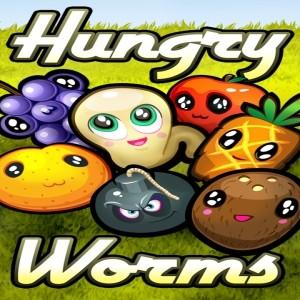 игра Hungry worms
