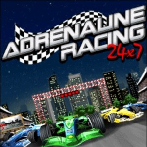 мобильная java игра Adrenalin Racing