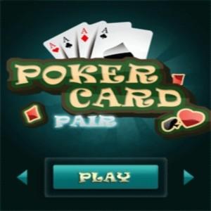 java игра Poker card pair