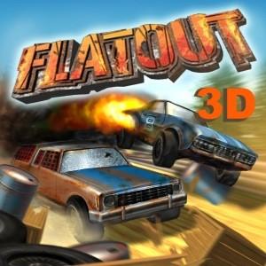мобильная java игра Flatout 3D