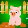 java игра Сумасшедшая свинья