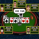 java игра On-Line Poker
