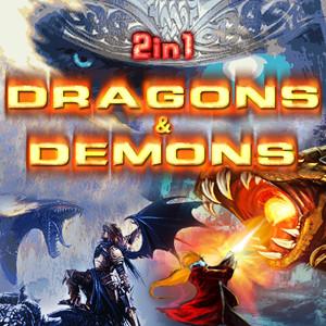 java игра 2 игры в 1 - Драконы и Демоны