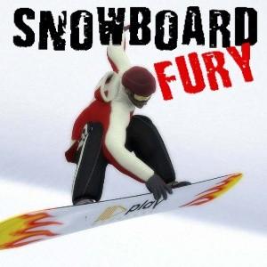 игра SnowBoard Fury