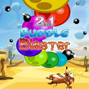 java игра 2 игры в 1 - Bubble Blaster