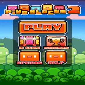 java игра Piyo Blocks 2 (Android)