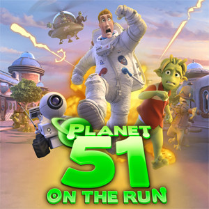 java игра Planet 51 On The Run