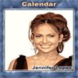 java игра Календарь - Дженифер Лопес