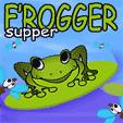 java игра Frogger Supper