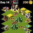 java игра Townsmen 2