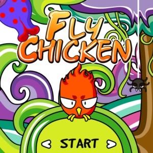 java игра Fly Chicken