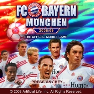 мобильная java игра Футбольный клуб Bayern Munich 2008-09